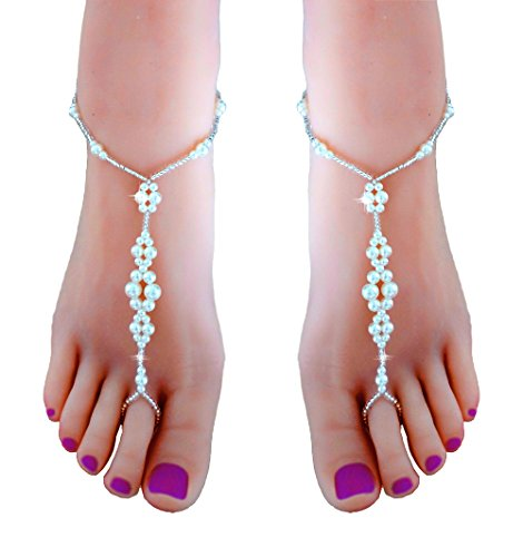 JEWSUN Wedding barefoot Footless Accessories product image