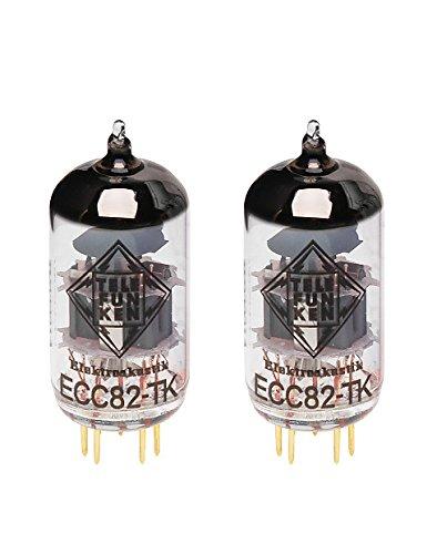 TELEFUNKEN Black Diamond ECC82-TK Vacuum Tube Matched Pair