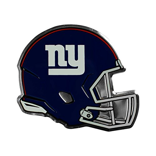Team ProMark NFL New York Giants Helmet Emblem, Blue, Standard