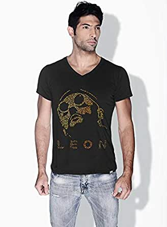 Creo Leon Movie Posters T-Shirts For Men - S, Black