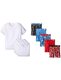 Little Boys' Crew Tee Five-Pack (Pack of 5)