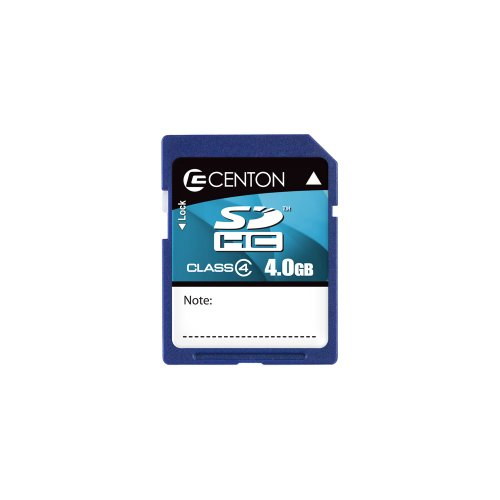 centon-4-gb-sdhc-class-4-flash-memory-card-4gbsdhc4-blue