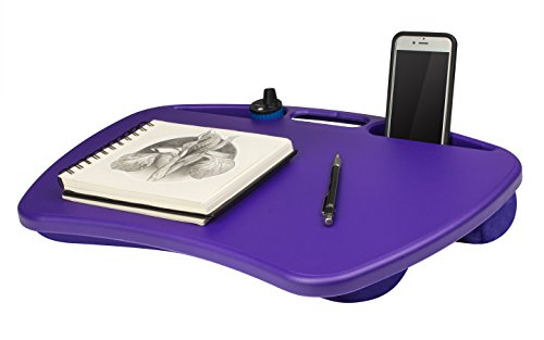 portable laptop desk tablet notebook computer bed pad tray stand lap side table ebay. Black Bedroom Furniture Sets. Home Design Ideas