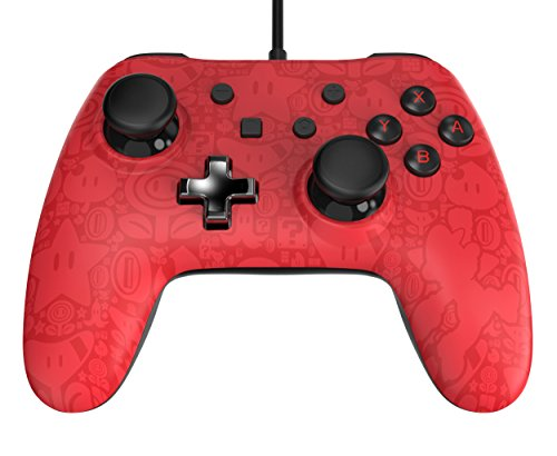 Wired Controller Plus   Super Mario   Nintendo Switch  Red
