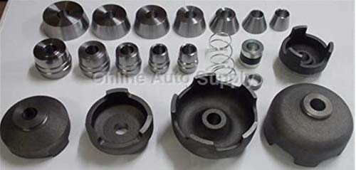 Online Auto Supply 20 Piece Brake Lathe Adapter Set AS4347 Fits Any 1