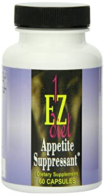 Maximum Intenational 1-EZ Diet, Appetite Suppressant, 60 Capsules