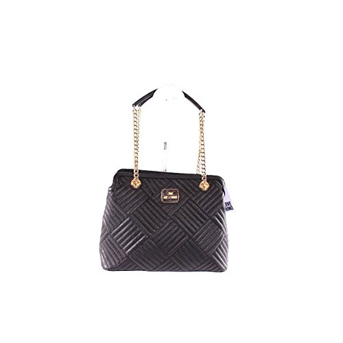 Pebble Bag Pu Quilted Black
