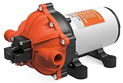 SEAFLO Marine 5.0 GPM Flagship Variable Flow Water Pump with Bypass Valve 12V 60psi for Boat & RV 54 Series