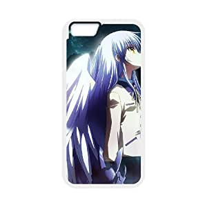 iPhone 6 4.7 Inch Cell Phone Case Covers White Angel Beats Kcwdi