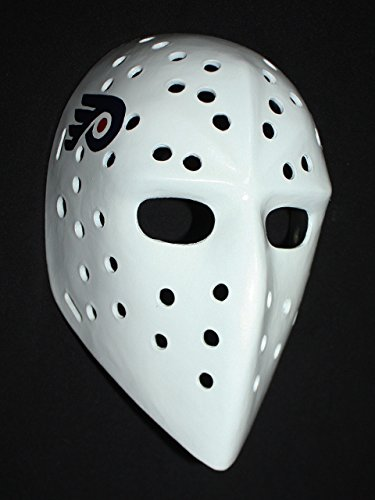 - 1:1 Custom Vintage Fiberglass Roller Ice Hockey Goalie Mask Bernie Parent HO103