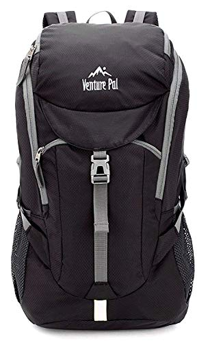 a666e241ebe2 Galleon - Venture Pal Hiking Backpack - Packable Durable Lightweight Travel  Backpack Daypack For Women Men(Black)
