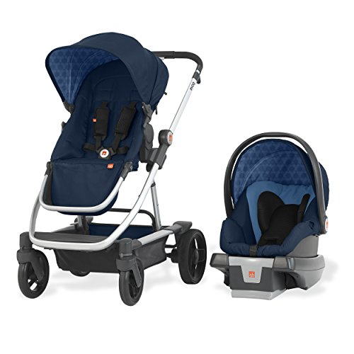 Image of the gb Evoq 4-In-1 Travel System, Midnight