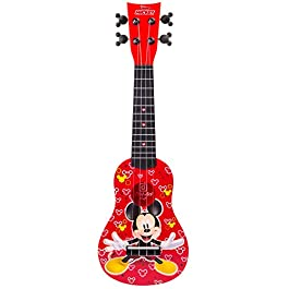 First Act Mickey Mouse Toy Ukulele, 20 Inch – Ukulele for Beginners, Musical Instruments for Toddlers and Preschoolers…
