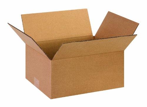 "UPC 094717497093, Aviditi 13106 Corrugated Box, 13"" Length x 10"" Width x 6"" Height, Kraft (Bundle of 25)"