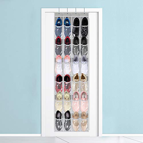Over The Door Storage Organizer, Hanging Shoe Organizer