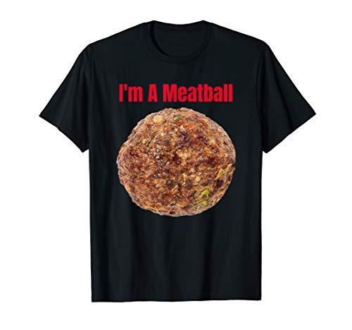 Funny Halloween Meatball Costume -