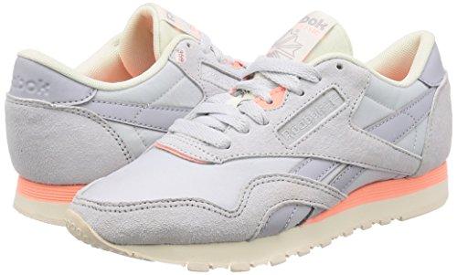 Cl M 000 rtro De Reebok En Rose Nylon Hommes Remise Chaussures Forme Multicolores Gris Pour Blanc Craie Nuage nRITFYwxqP