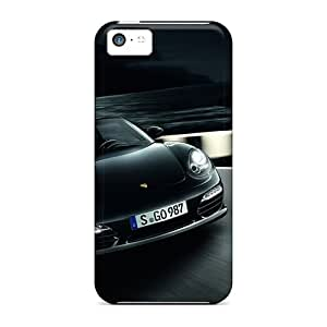 Tpu Case Cover For Iphone 5c Strong Protect Case - 2011 Boxster S Design