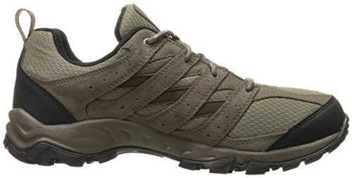 Columbia Mens Plain Butte Hiking Hiking Shoes Pebble / Sanguine