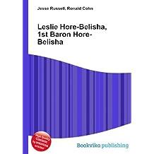 Leslie Hore-Belisha, 1st Baron Hore-Belisha