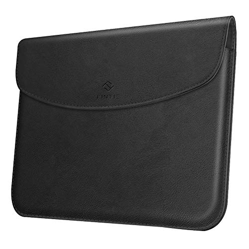 Fintie Sleeve Case Compatible with New Microsoft Surface Go - Slim Fit Vegan Leather Protective Cover w/Stylus Loop for Microsoft Surface Go 10 Tablet, Compatible with Type Cover Keyboard (Black)