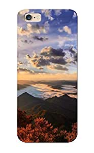 New Style Improviselike Hard Case Cover For Iphone 6 Plus- Sunrise Over The Mountains