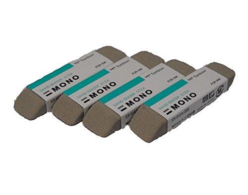 Bulk Buy: Tombow Crafts Mono Sand Eraser (4-Pack)