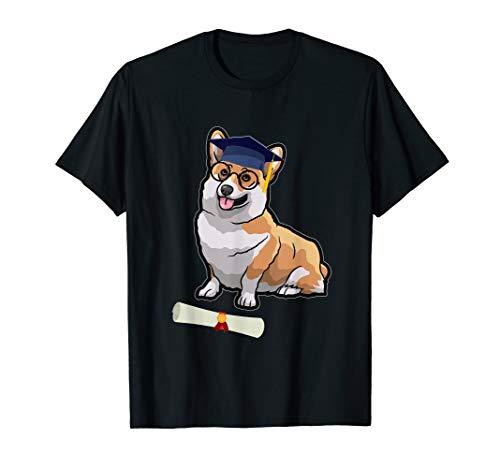 Corgi With Graduation Cap Graduation Shirt Gifts