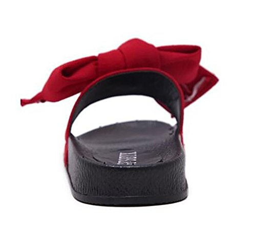 Casual 42 Arc Sandale SHANGXIAN Plage Nouveau Été Red Mode Femmes Tongs Pantoufles qxBTwa48