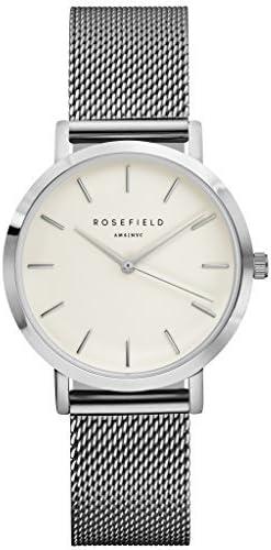 Rosefield Reloj Analógico para Mujer de Cuarzo con Correa en Metal TWS-T52