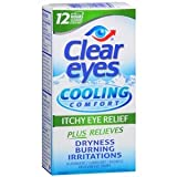 Clear eyes Cooling Comfort Eye Drops 0.5 fl oz - Buy Packs and Save (Pack of 5)