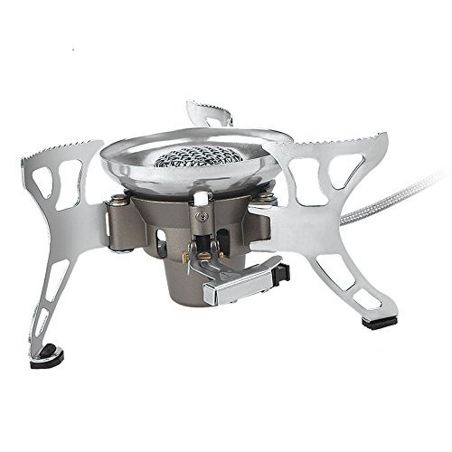 BRS-15 430g Super Windproof Cooking Stove Lightweight Camping Stove Portable Outdoor Burner