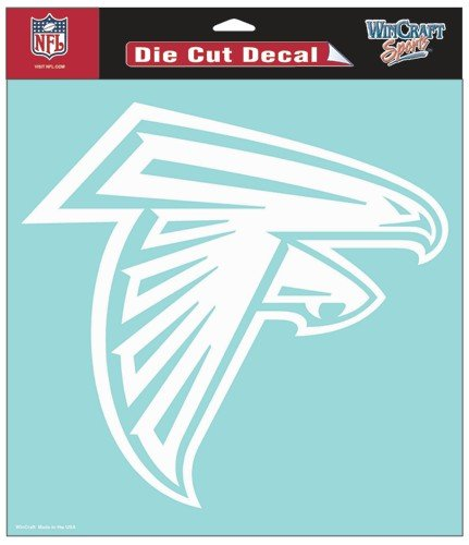 NFL Atlanta Falcons WCR25669014 Perfect Cut Decals, 8