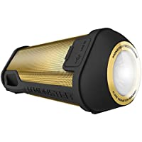 Monster Firecracker High Definition Bluetooth Speaker, Gold bluetooth wireless speaker for outdoor, camping