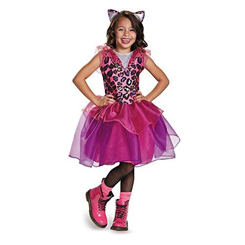 Disguise 84070K Leopard Kitty Costume, Medium (7-8)