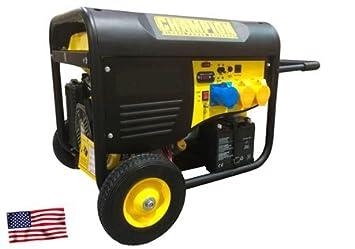 Champion 9000 W Gasolina Generador electrógeno de emergencia Generadores de corriente 230 V EU: Amazon.es: Jardín