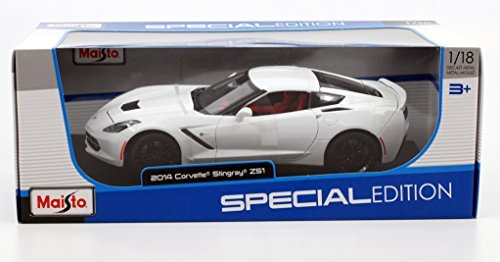 Maisto 2014 Chevrolet Corvette Stingray Z51 1/18 Scale Diecast Model Car - Toy Scale Diecast