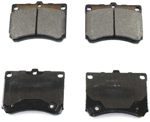 DuraGo BP473 C Front Ceramic Brake Pad ()