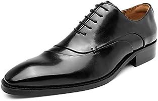 [フォクスセンス] ビジネスシューズ 革靴 軽量・撥水 ドレスシューズ 本革 プレーントゥ 紳士靴 内羽根 メンズ