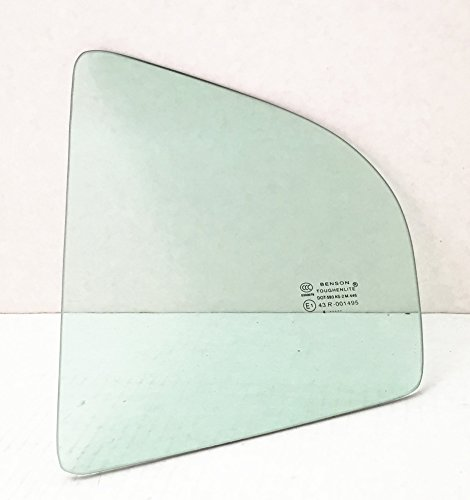 Rear Door Vent - TYG Fits 2001-2006 Hyundai Elantra 4 Door Sedan Driver Side Left Rear Vent Window Glass
