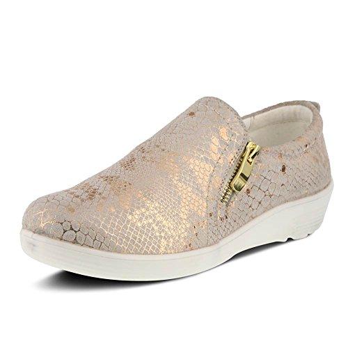 Spring Step Womens Mandie Shoe Pitone Oro