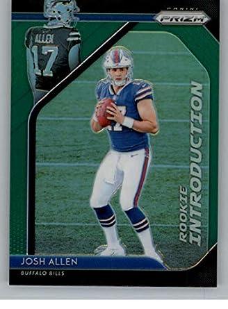 1db5636b8 2018 Panini Prizm Rookie Introduction Prizm Green  5 Josh Allen Buffalo  Bills