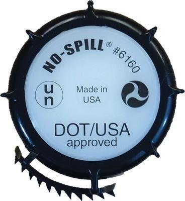 No-Spill Replacement Cap for Gas Can - DOT/UN Approved 6160 by No-Spill