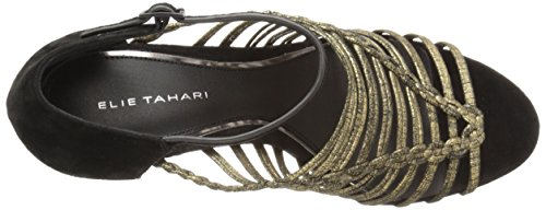 EL Elie Women's Sandal Black Imperial Dress Tahari qOE8CwOx7