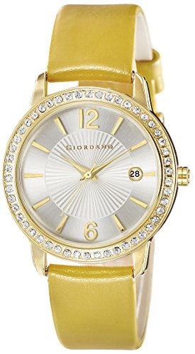 Giordano Analog White Dial Women's Watch – 60055-01