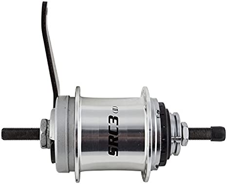Sturmey Archer HUB RR S//A 3sp SRC3 36CB ALY SLwSHFTR 18T//175//116mm