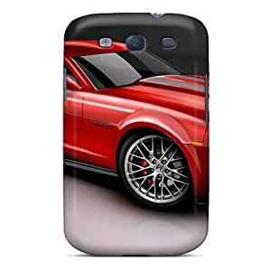 New GG Fan Super Strong 2010 Camaro Red Tpu Case Cover For Galaxy S3