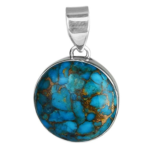 Nathis Blue Copper Turquoise Pendant