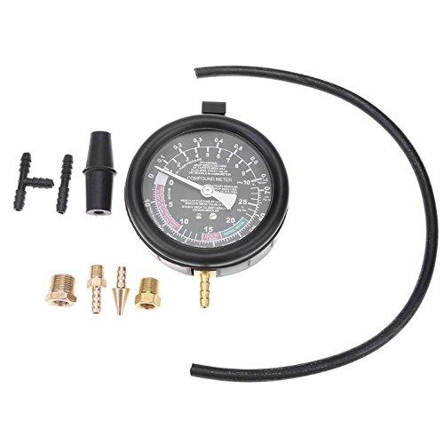 elegantstunning Multifunction Car Engine Vacuum Pressure Gauge Meter for Fuel System Vaccum System Seal Leakage Tester by elegantstunning (Image #5)