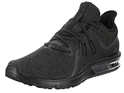 Nike Women's Air Max Sequent 3 Running Shoe Blackanthrcite (8, Blackanthracite)